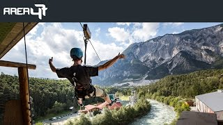 AREA 47 in Tirol - The Ultimate Outdoor Playground (Official Trailer 2018)