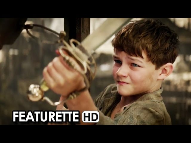 PAN 3D Featurette (2015) - Hugh Jackman, Levi Miller [HD]