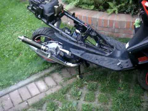 ¤¤ First Run TGB R50X full sport 70cc tuning ¤¤