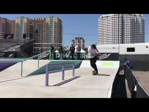 Few warm up clips with Greg Lutzka at the 2017 Dew Tour Long Beach