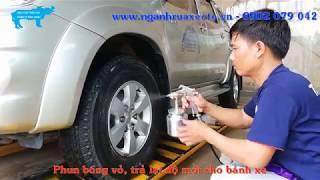 Hướng dẫn rửa xe ô tô đúng cách, đúng quy trình - Định Châu