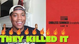 G Eazy Endless Summer Freestyle Audio Ft Yg Reaction