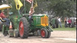Antique tractor pull, Hemlock Mi. 09/20/2014