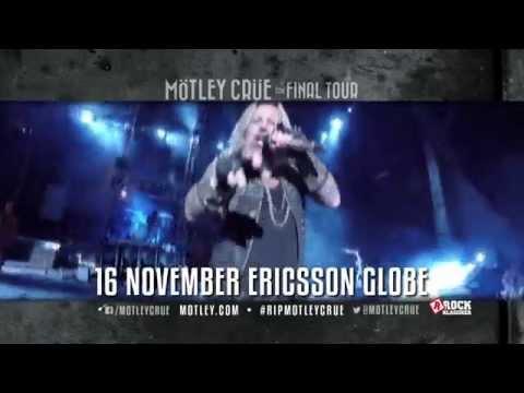 Mötley Crüe - 16 november - Ericsson Globe, Stockholm