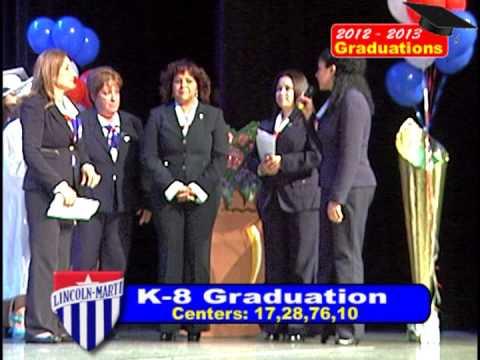 Lincoln Marti Schools K8 Graduations 2013
