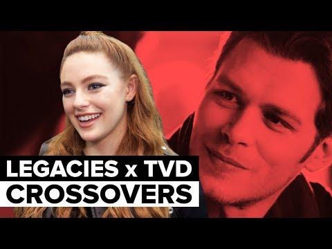 Legacies Cast Reveals Dream Vampire Diaries Crossovers