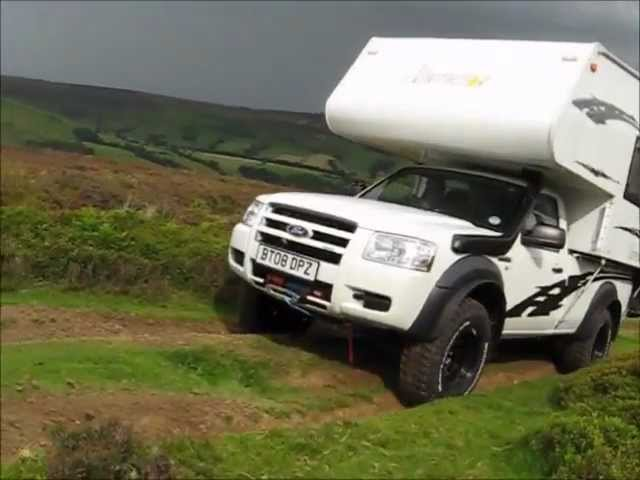 Ford Ranger Expedition Vehicle Northstar Demountable Bug Out Truck