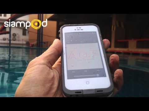 รีวิวเคสกันน้ำ LifeProof for iPhone 5 - Waterproof Test (1/2)