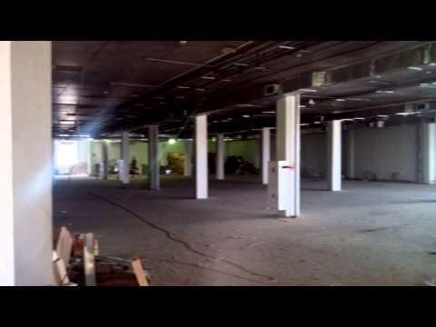 Ремонт в ЦУМе на 6 этаже нового здания Киров