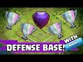 CLASH OF CLANS | NEW BEST TH11 DEFENSE BASE / TROPHY BASE 2017 | ANTI 1 STAR BASE & ANTI 2 STAR BASE