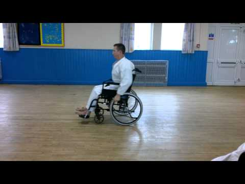 Wheelchair Karate Kata Heian Shodan video