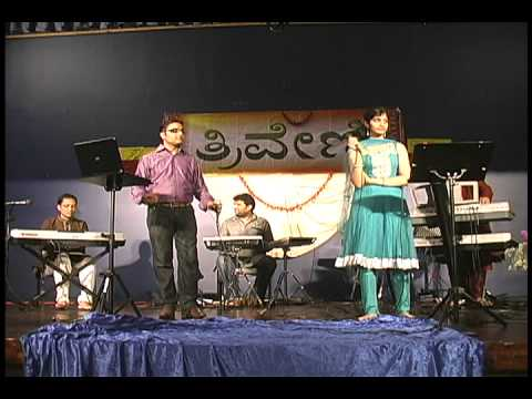 Ajay Warriar & Neha Nataraj singing jotheyali Kannada film hit...