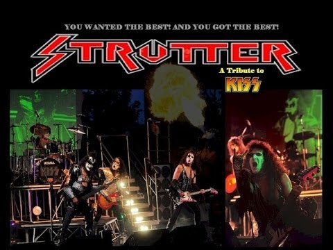 Strutter (KISS Tribute Band) - The Catman - Andrew French drum solo