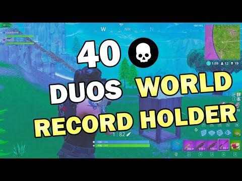 40 Kill Duo Game! Tied World Record for Duo Kill Record PC!