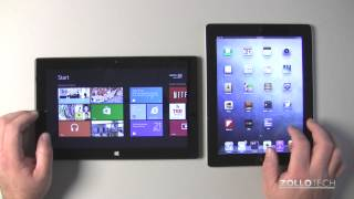Surface RT vs iPad - Thorough Comparison
