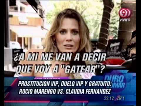 Duro de Domar - Prostitución VIP: Rocío Marengo vs Claudia Fernández 09-03-12
