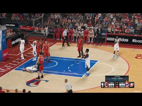 NBA 2K15 Toronto Raptors Vs Los Angeles Clippers 27-12-2014