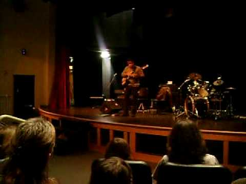 Victor Wooten (apart of Bela Fleck and the Flecktones) at Long Trail School