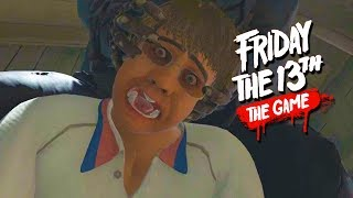 BROCK LESNAR!! - Friday the 13th Game Funny Moments!