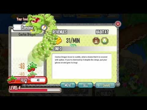 How to get Cactus Dragon in Dragon City On Facebook By Breeding