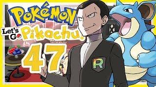 POKÉMON LET'S GO, PIKACHU! # 47 ⚡ Giovanni und der Erdorden! • Pokémon: Let's Go, Pikachu