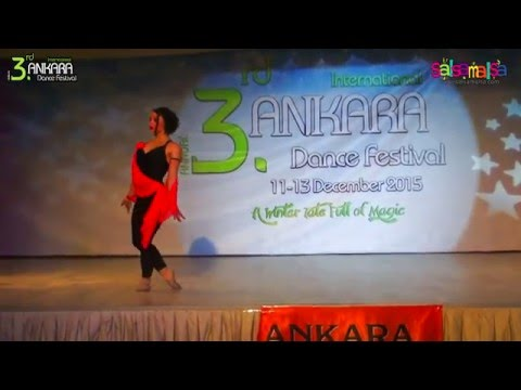 Ezgi Zaman Solo Dance Performance | AIDC-2015