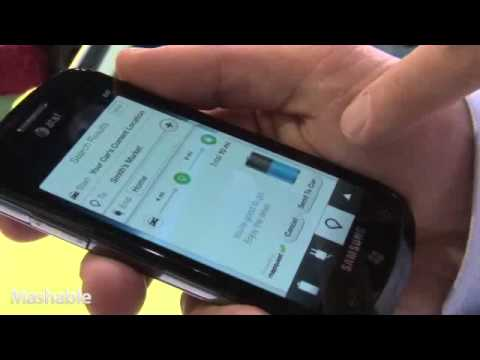 MyFord Mobile Demo at CES 2011