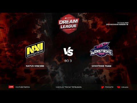 🤠 [RU] Natus Vincere vs Winstrike   Bo3   DreamLeague Season 10   Navi едут на Минор?
