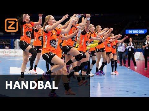 Handbal Kosovo - Nederland (EK Kwalificatie)