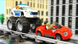 Lego Experimental Police Chase (Jewelry Robbery)