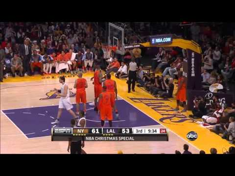 Kobe Bryant 34 Points vs New York Knicks - Christmas Day 25/12/2012