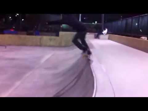 Kickflip Backside Overcrook