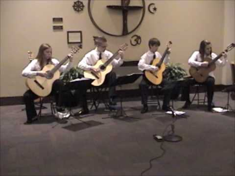 Secret Agent Man - Student Guitar Ensemble