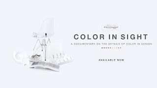 Color In Sight: A Documentary on the Details of Color in Design by TEALEAVES