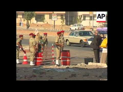 EGYPT: CAIRO: TOURIST BUS BOMBING SUSPECTS APPEAR IN COURT