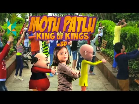 Motu Patlu: King of Kings in 3D Movie Review Hindi : Motu aur patlu ki jodi song dance  movie 2016 thumbnail