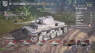Tribonious playing World of Tanks: Mercenaries
