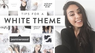 How I Edit My Instagram Photos (White Theme)