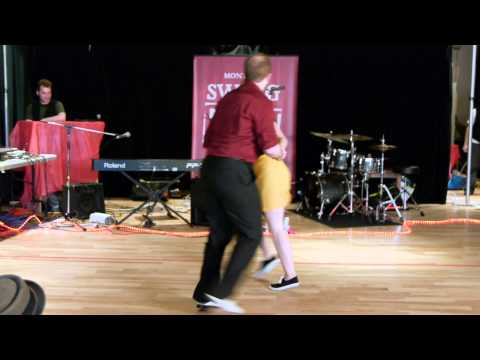 Montreal Swing Riot 2012 - Short Showcase - William Ewanick & Laura Smith