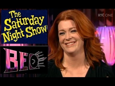 The Saturday Night Show, Brendan O'Connor,Bláthnaid Ní Chofaigh,Irish language rights,Gaeilge