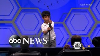 Spelling Bee | 6-Year-Old Kid Makes History at National Spelling Bee