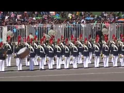 Parada Militar 2014 - Escuela Militar Chile HD