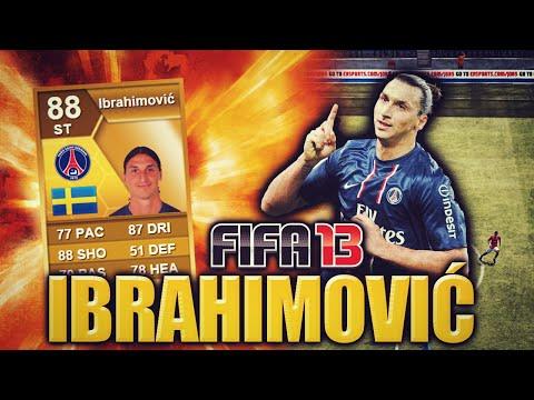 THE AMAZING IBRAHIMOVIC FIFA 13 ULTIMATE TEAM