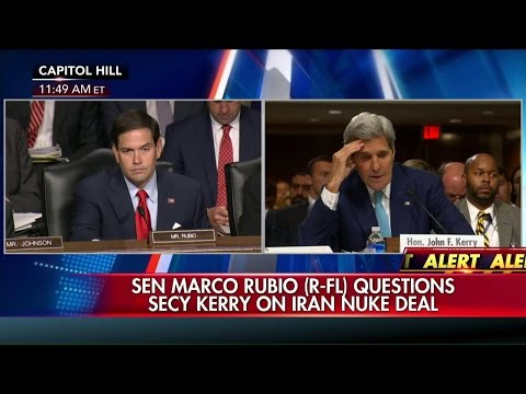Sen. Marco Rubio Grills Sec'y of State John Kerry on Iran Deal