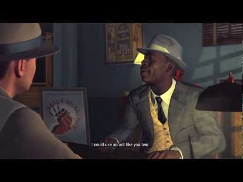LA Noire: The Black Ceasar 5 STAR Walkthrough Case 1 Part 1 [The Vice Cases] Let's Play