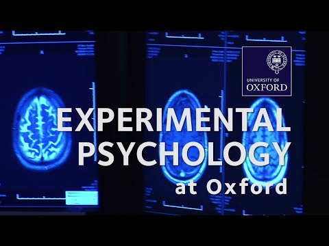 Experimental Psychology at Oxford University