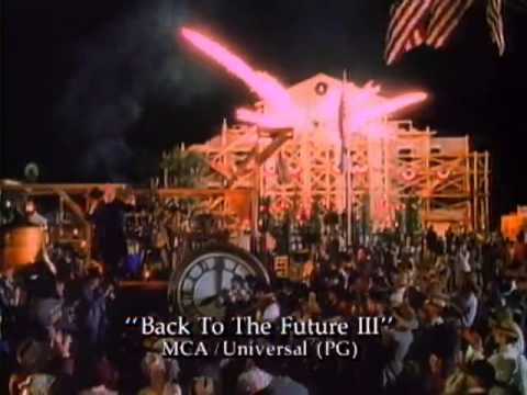 Back To The Future Part III Official Trailer