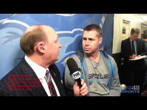 411SportsTV: Memphis Grizzlies Head Coach Dave Joerger on Grizzlies Options Without Marc Gasol