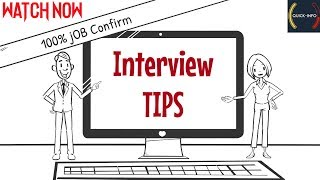 Best Interview Tips For Fresher || Confirm Job Tips 2019