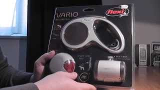 Flexi Vario dog belt unboxing